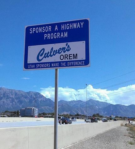 Utah Sponsor A Highway